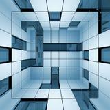 Abstract interior Stock Photo