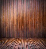 Abstract interior with parquet wooden floor Stock Photography