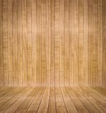 Abstract interior with parquet wooden floor Royalty Free Stock Photography