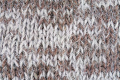 Abstract interlacing of knitted  fibres Royalty Free Stock Photo
