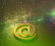 Abstract internet background Stock Photo