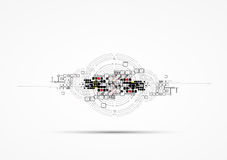 Abstract internet computer technology business solution. Abstract global infinity computer  technology concept business background Royalty Free Stock Photography