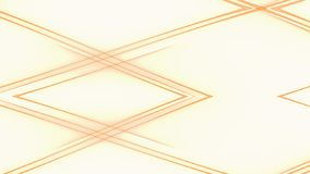 Abstract intersecting yellow lines background.  stock illustration