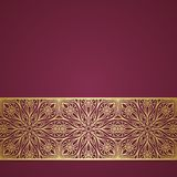 Abstract invitation card. Vector ornament Stock Images