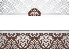 Abstract invitation frame Royalty Free Stock Photography