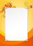 Abstract invitation template Royalty Free Stock Image