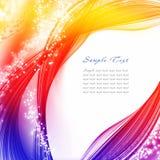 Abstract iridescen background Stock Photo