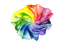 Abstract iridescent flower Stock Image