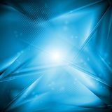 Abstract iridescent vector design Royalty Free Stock Images