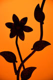 Abstract iron flowers Stock Photo