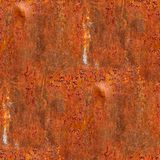 Abstract iron rust seamless pattern background Royalty Free Stock Photography