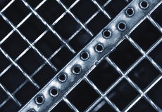 Abstract iron stair matting Royalty Free Stock Photos
