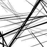 Abstract, irregular lines pattern, background. Monochrome geomet. Ric art. - Royalty free vector illustration stock illustration