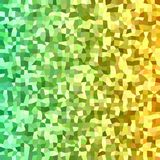 Abstract irregular rectangle mosaic background Royalty Free Stock Images