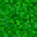 Abstract rectangle mosaic background - polygonal vector design from rectangles in green tones with 3d effect. Abstract irregular rectangle mosaic background Royalty Free Stock Images