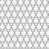 Abstract Islamic seamless pattern.  illustration. For modern design. Black and white color Royalty Free Stock Images