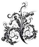 Abstract isolated flourish. Abstract isolated on white flourish, digital artwork stock illustration