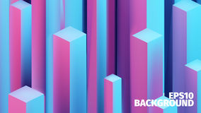 Abstract isometric boxes 3d background. Vector cubes pattern. Bright illustration. Abstract isometric boxes 3d  background. Vector cubes pattern. Bright Stock Photos