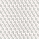 Abstract isometric cubes seamless pattern. Stock Photo