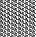 Abstract isometric 3d pattern background Royalty Free Stock Photos
