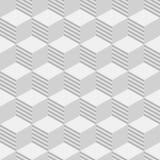 Abstract isometrisch kubussen naadloos patroon royalty-vrije illustratie