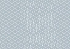 Abstract Isometry Wireframe Drawing Stock Photography