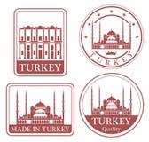 Abstract Istanboel Royalty-vrije Stock Afbeelding