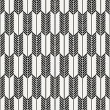 Abstract Japanese arrow vector pattern. Repeating white and stripe line of arrow pattern. graphic clean design for fabric stock illustration
