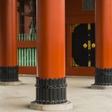 Abstract Japanese vintage background featuring interior architectural details stock photos