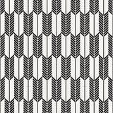Abstract Japans pijl vectorpatroon Het herhalen van wit en streeplijn van pijlpatroon grafisch schoon ontwerp voor stof stock illustratie