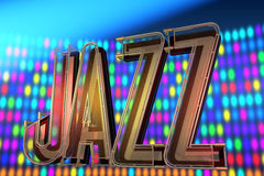 Abstract jazz background Stock Photos