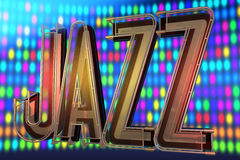 Abstract jazz background Royalty Free Stock Photos