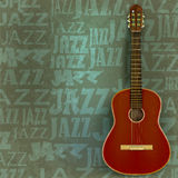 Abstract jazz background Stock Images