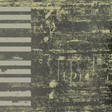 Abstract jazz background grunge piano keys Stock Photography