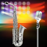 Abstract jazz background Royalty Free Stock Photography