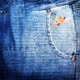 Abstract jeans backround Stock Photo