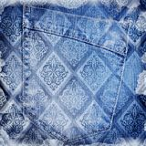 Abstract jeans backround Royalty Free Stock Photography