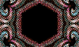 Abstract jewel colored design Royalty Free Stock Photos