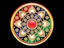 Abstract jewel design Stock Image
