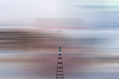 Abstract Journey into Dreams Stock Images