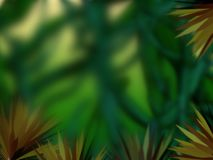 Abstract jungle. Illustration of abstract green jungle background blurred Royalty Free Stock Photo