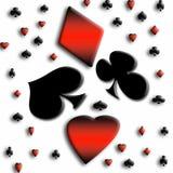 Abstract kaartspel Stock Foto's