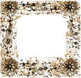 Abstract kader voor groetkaart Stock Afbeeldingen