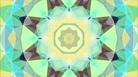 Abstract kaleidoscope animation. stock video footage