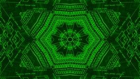 Kaleidoscope desing background Stock Photography