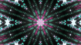 Abstract kaleidoscope background with bright details and elements.  vector illustration