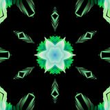 Abstract kaleidoscope background, can be used for designs, batik motifs, wallpapers, fabrics, ornaments and decorations. Abstract kaleidoscope background can stock illustration
