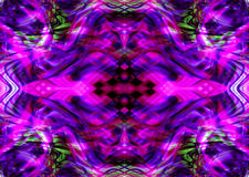 Abstract kaleidoscope background. Purple and green kaleidoscope background stock illustration