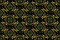 Abstract kaleidoscope background. Seamless texture stock illustration
