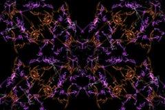 Abstract kaleidoscope background. Seamless texture stock photo